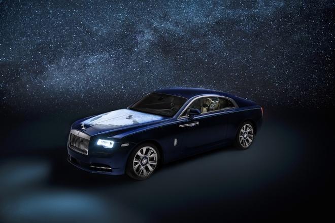 Rolls-Royce Wraith phien ban Trai Dat duoc ra mat anh 1