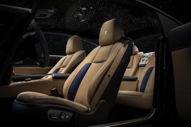 Rolls-Royce Wraith phien ban Trai Dat duoc ra mat anh 5