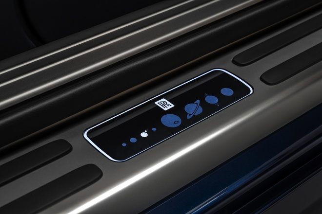 Rolls-Royce Wraith phien ban Trai Dat duoc ra mat anh 7