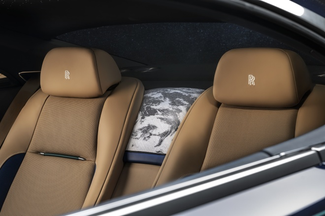 Rolls-Royce Wraith phien ban Trai Dat duoc ra mat anh 6