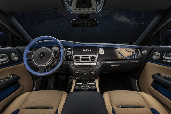 Rolls-Royce Wraith phien ban Trai Dat duoc ra mat anh 4
