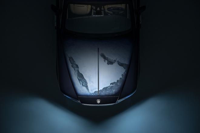 Rolls-Royce Wraith phien ban Trai Dat duoc ra mat anh 2