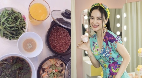 Angela Phuong Trinh ke chuyen an chay truong hinh anh