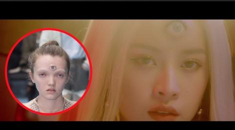 Chi Pu tai hien nguoi mau 3 mat cua Gucci trong MV moi hinh anh