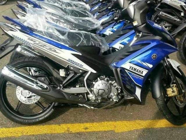 Lo anh thuc te Yamaha Exciter GP 2013 hinh anh