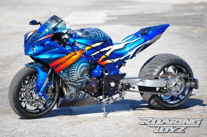 Yamaha R1 do phong cach ham ho hinh anh