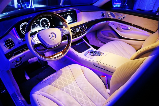 Anh chi tiet Mercedes-Benz S-Class moi hinh anh 3
