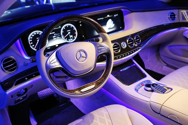 Anh chi tiet Mercedes-Benz S-Class moi hinh anh 4