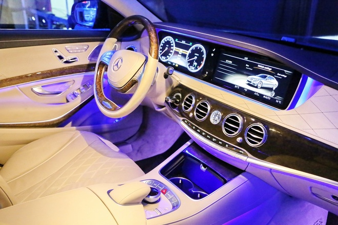 Anh chi tiet Mercedes-Benz S-Class moi hinh anh 5