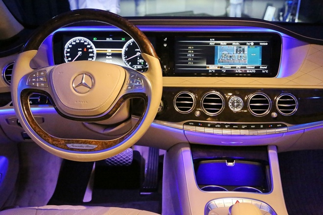 Anh chi tiet Mercedes-Benz S-Class moi hinh anh 6