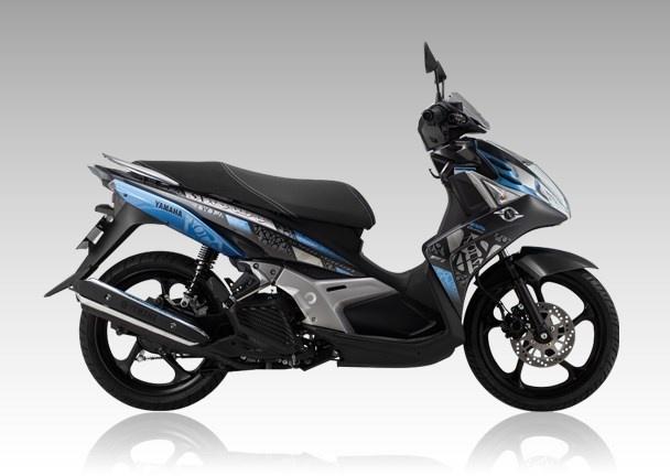 Yamaha Nouvo SX moi trang bi banh sau kich thuoc lon hinh anh