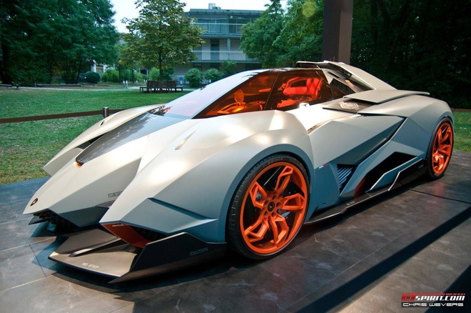 Anh dep sieu xe 5/1: Sieu xe concept Lamborghini Egoista hinh anh