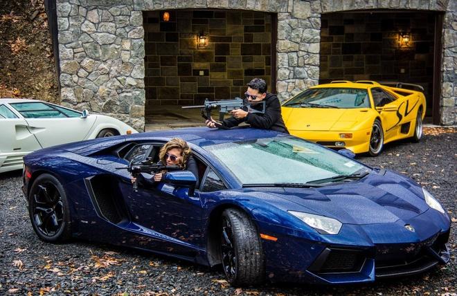 Anh dep sieu xe 27/1: Lamborghini Aventador lam u sung hinh anh