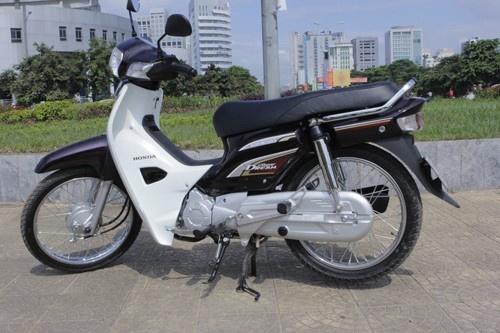Honda Dream 110 bi lang le khai tu hinh anh