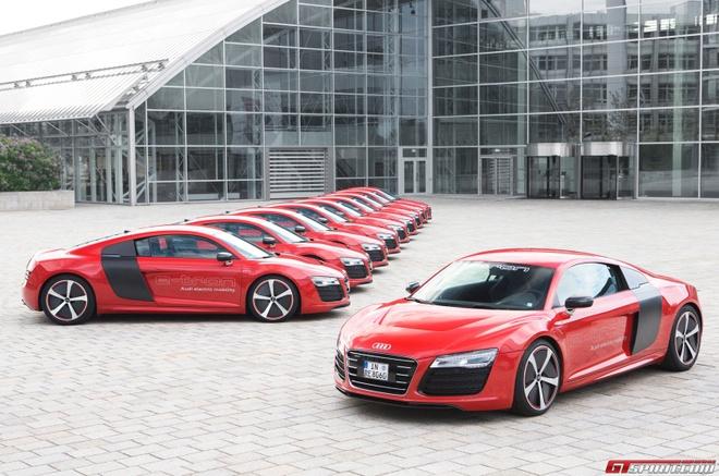 Audi xac nhan san xuat sieu xe dien R8 e-tron hinh anh