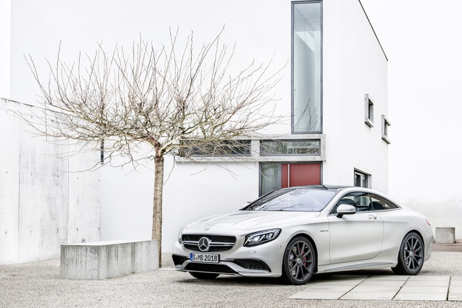 Mercedes S63 AMG coupe chinh thuc ra mat hinh anh