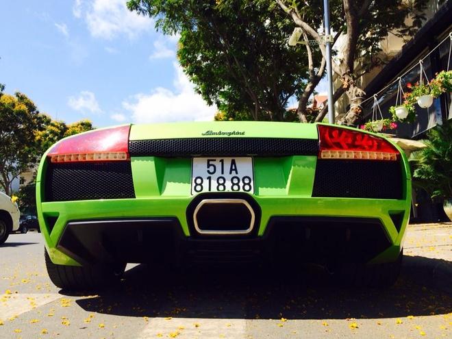 Sieu xe Lamborghini doc nhat VN doi chu, deo bien so Sai Gon hinh anh 4