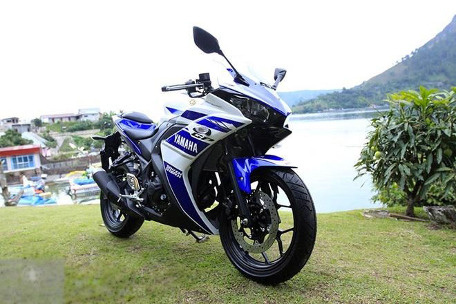 Anh chi tiet Yamaha YZF-R25 gia 97 trieu dong tai Indonesia hinh anh