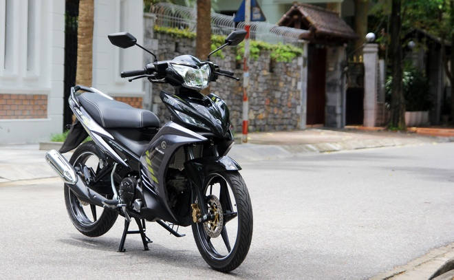 Chi tiet Yamaha Exciter RC 2014 mau xam moi ra mat o VN hinh anh 1
