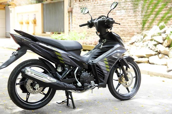 Chi tiet Yamaha Exciter RC 2014 mau xam moi ra mat o VN hinh anh 3