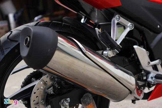 Honda CBR300R do dang Kawasaki Ninja 300 tai Ha Noi hinh anh 23