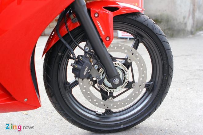 Honda CBR300R do dang Kawasaki Ninja 300 tai Ha Noi hinh anh 15