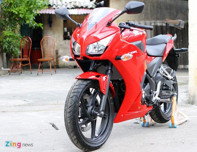 Honda CBR300R do dang Kawasaki Ninja 300 tai Ha Noi hinh anh 1