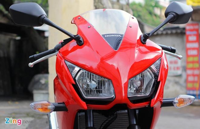 Honda CBR300R do dang Kawasaki Ninja 300 tai Ha Noi hinh anh 7
