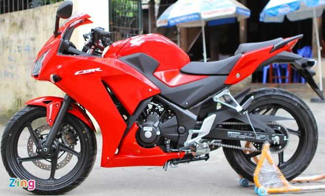 Honda CBR300R do dang Kawasaki Ninja 300 tai Ha Noi hinh anh 5