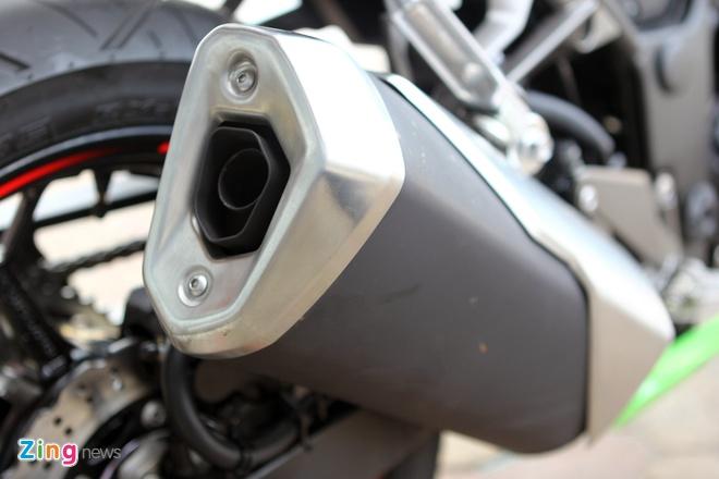 Honda CBR300R do dang Kawasaki Ninja 300 tai Ha Noi hinh anh 24