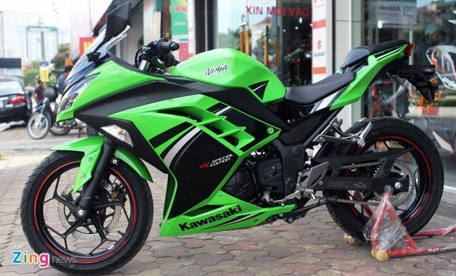 Honda CBR300R do dang Kawasaki Ninja 300 tai Ha Noi hinh anh 6