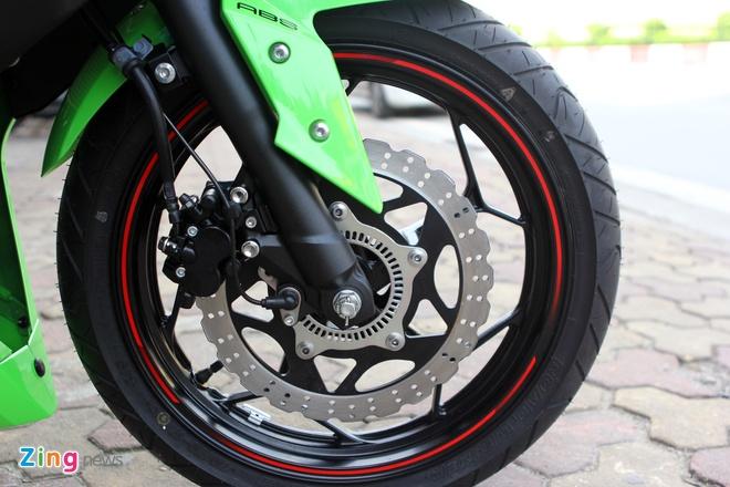 Honda CBR300R do dang Kawasaki Ninja 300 tai Ha Noi hinh anh 16