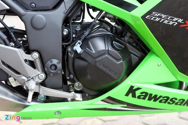 Honda CBR300R do dang Kawasaki Ninja 300 tai Ha Noi hinh anh 22