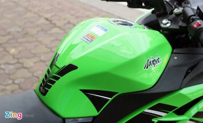 Honda CBR300R do dang Kawasaki Ninja 300 tai Ha Noi hinh anh 18