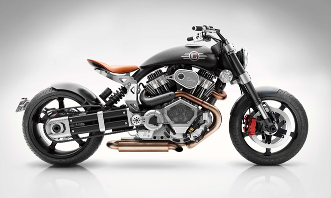 Confederate X132 Hellcat Speedster lo dien, gia 65.000 USD hinh anh