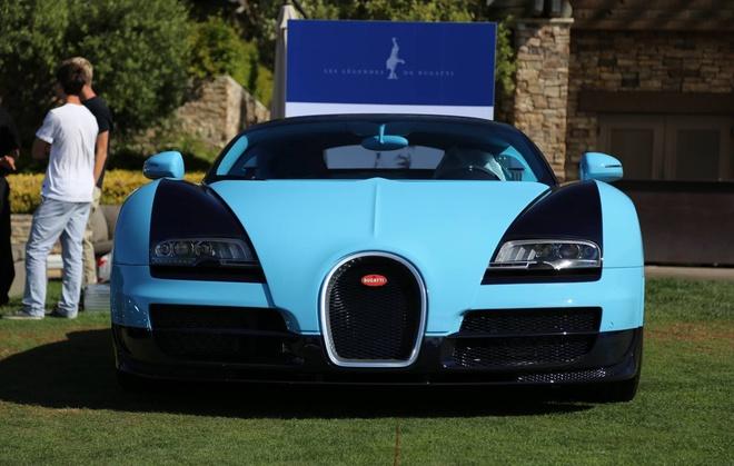 Can canh loat 6 sieu xe Bugatti Veyron huyen thoai hinh anh 3 Siêu xe đầu tiên trong loạt Veyron huyền thoại là siêu xe Bugatti Veyron Grand Sport Vitesse Jean-Pierre Wimille