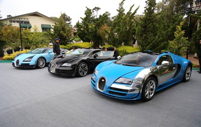 Can canh loat 6 sieu xe Bugatti Veyron huyen thoai hinh anh 2