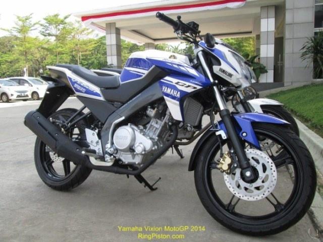 Yamaha gioi thieu naked bike V-Ixion GP 2014 hinh anh