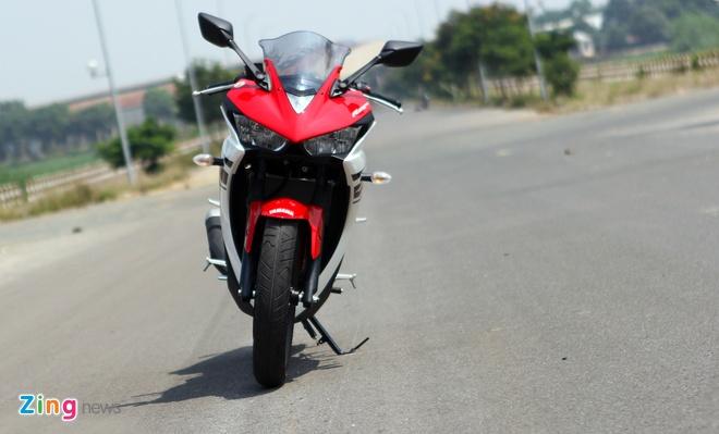 Chay thu Yamaha R25: Hoan hao cho nguoi moi choi sportbike hinh anh 9
