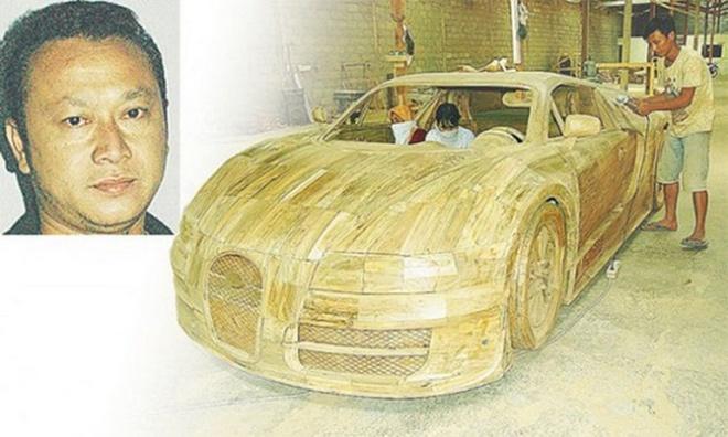 Bugatti Veyron dac biet lam tu go gia 3.300 USD hinh anh 2