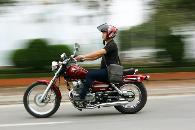 Chay thu Honda Rebel 250 2014: Xung danh huyen thoai cruiser hinh anh