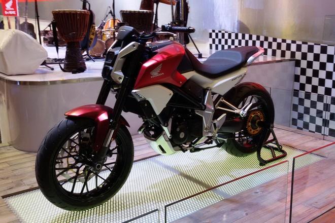 Honda gioi thieu mau naked-bike concept moi hinh anh