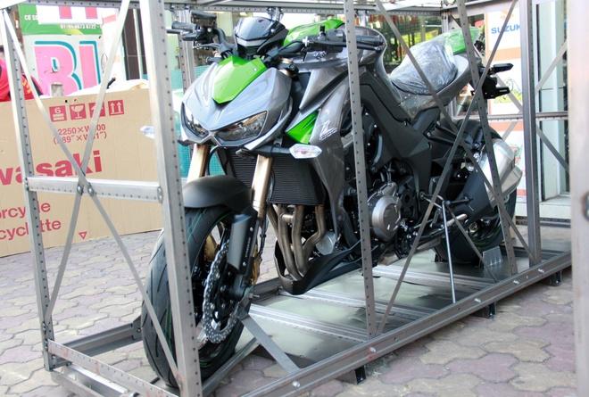 Kawasaki Z1000 2014 chau Au gia 25.000 USD tai Ha Noi hinh anh