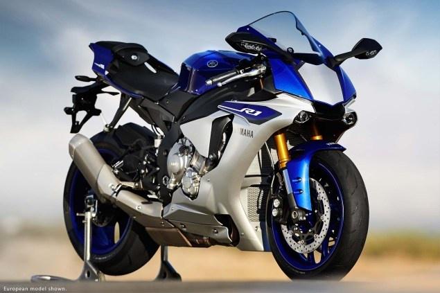 Anh chi tiet sieu mo to Yamaha YZF-R1 2015 moi ra mat hinh anh