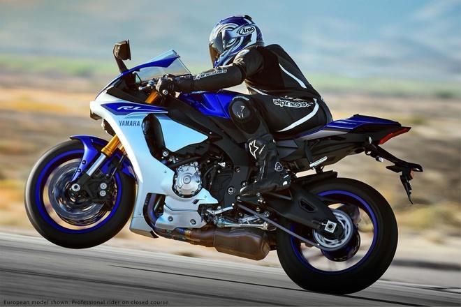 Anh chi tiet sieu mo to Yamaha YZF-R1 2015 moi ra mat hinh anh 4 Một hệ thống cảm biến hiện đại gắn trên xe giúp bộ điều khiển nắm được tình trạng vận hành của xe trên đường để có những can thiệp hiệu quả nhất.