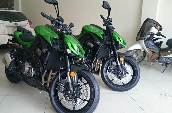 Kawasaki Z1000 2015 bat ngo ve Sai Gon hinh anh