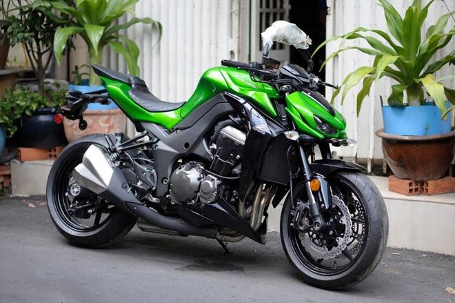 Can canh Kawasaki Z1000 2015 gia 500 trieu tai Sai Gon hinh anh