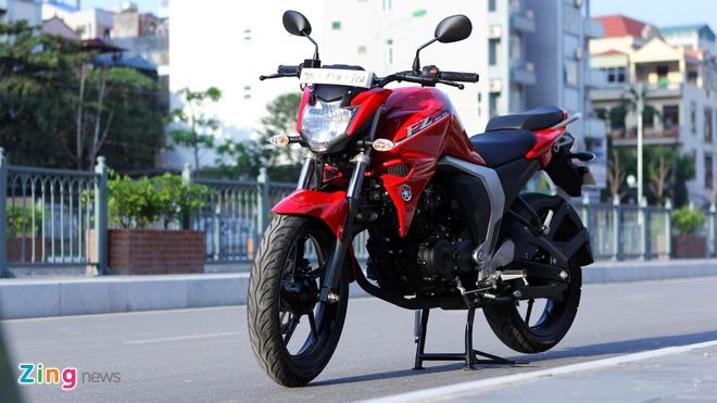 Chay thu Yamaha FZ-S V2.0 Fi: Naked-bike co nho dang luu tam hinh anh 1