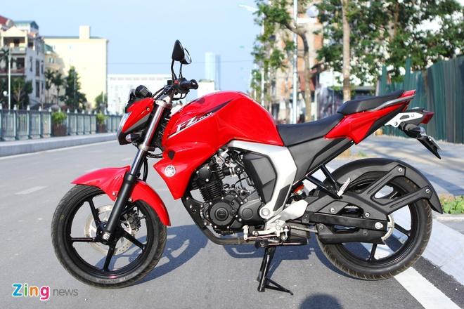 Chay thu Yamaha FZ-S V2.0 Fi: Naked-bike co nho dang luu tam hinh anh 2