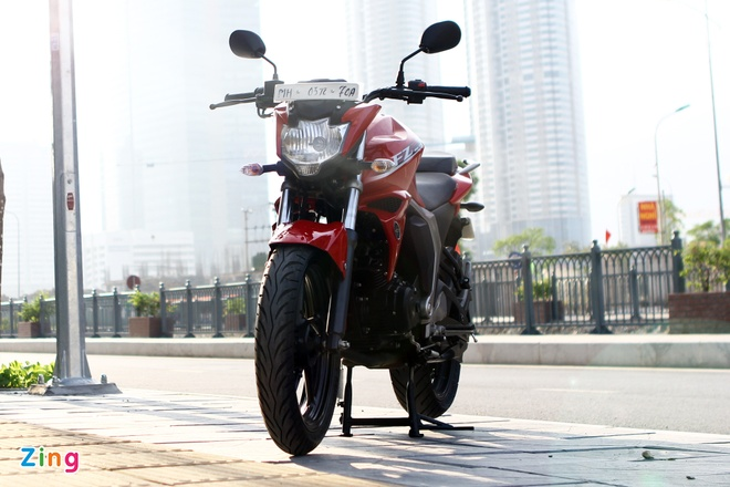 Chay thu Yamaha FZ-S V2.0 Fi: Naked-bike co nho dang luu tam hinh anh 3